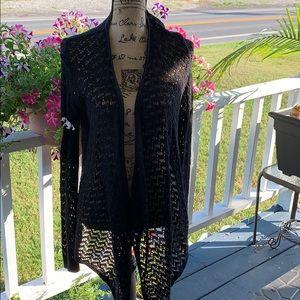 American Eagle 🦅 Crochet 🧶 Sweater. Size L. EUC